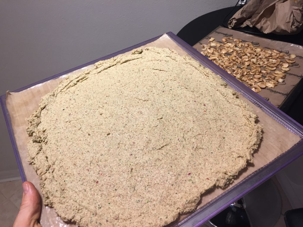 raw pizza crust